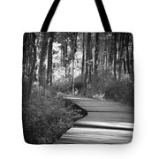 Wooded Walk Tote Bag