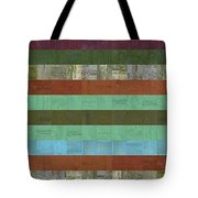 Wooden Abstract X  Tote Bag