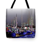 Wooden Boats 2 Tote Bag
