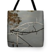 Wooden Bridge In Color Tote Bag