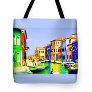 Wooden Bridge To Despar Tote Bag