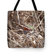 Wooden Butterfly Tote Bag