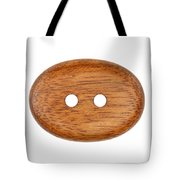Wooden Button Tote Bag