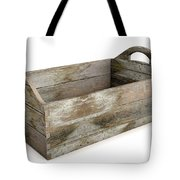 Wooden Carry Crate Tote Bag