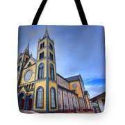 Wooden Cathedral  Tote Bag