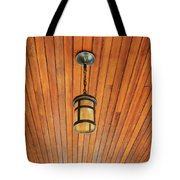 Wooden Ceiling Tote Bag