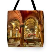 Wooden Church Tote Bag