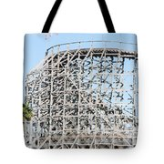 Wooden Coaster Tote Bag