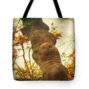 Wooden Creatures Tote Bag