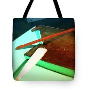Wooden Dingy Tote Bag