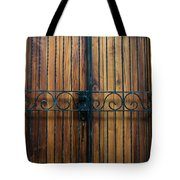 Wooden Door 2 Tote Bag