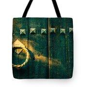Wooden Door Tote Bag