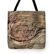 Wooden Eye 1 Tote Bag