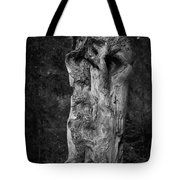 Wooden Face 2 Tote Bag