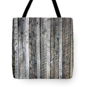 Wooden Fence And Ivy Tote Bag