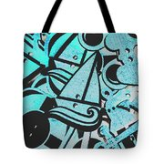 Wooden Harbour Tote Bag