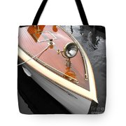 Wooden Launch Tote Bag