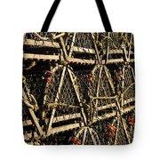 Wooden Lobster Traps Tote Bag