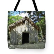 Wooden Mission Of Nombre De Dios Tote Bag