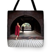 Wooden Monastery Tote Bag