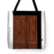 Wooden Portal Tote Bag