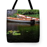 Wooden Rowboats Tote Bag