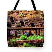 Wooden Shack Tote Bag