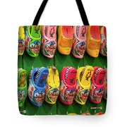 Wooden Shoes From Amsterdam Tote Bag
