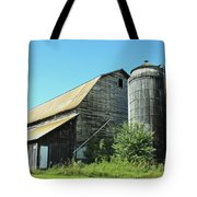 Wooden Silo Tote Bag