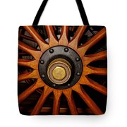 Wooden Spokes Tote Bag