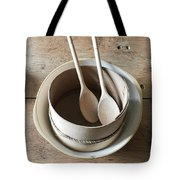 Wooden Spoons Tote Bag