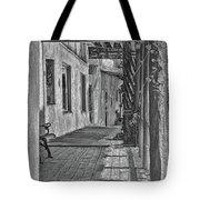 Wooden Walkway Tote Bag