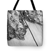 Wooden Wave Tote Bag