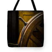 Wooden Wheel Tote Bag
