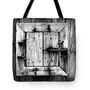 Wooden Window II Tote Bag
