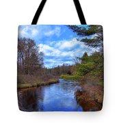 Woodhull Creek Tote Bag