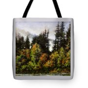 Woodland Bottoms In April Tote Bag