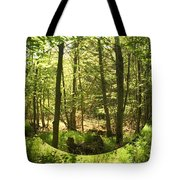 Woodland Bubble Tote Bag