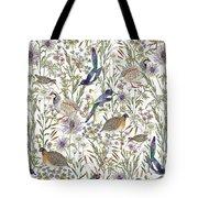 Woodland Edge Birds Tote Bag