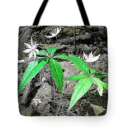 Woodland Flowers Tote Bag