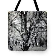 Woodland Fluff Tote Bag