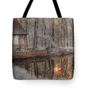 Woodland Gazebo Tote Bag