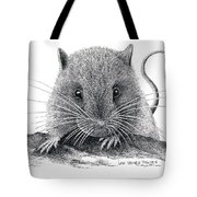 Woodland Jumping Mouse Tote Bag