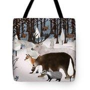 Woodland Nature Tote Bag