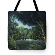 Woodland Pond Tote Bag