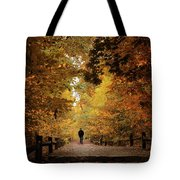 Woodland Promenade Tote Bag