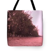 Woodlands At The Beach Tote Bag