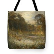 Woodlands Gay With Lady Smocks Tote Bag