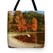 Woodlands On The Lake Tote Bag