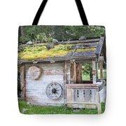 Woodman's Cabin  Tote Bag